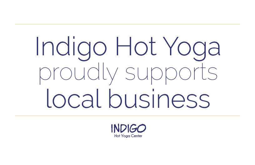 Indigo Proudly Supports Local Business
