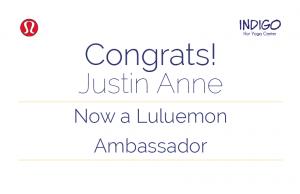 JA gets Lululemon Ambassadorship