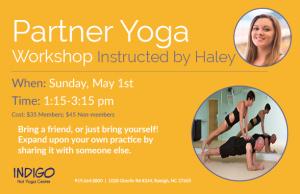 2016 Partner Yoga Workshop - Haley